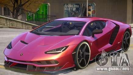 Lamborghini Centenario 17 para GTA 4