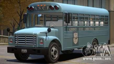 Vapid Prison Bus (Improved) V1.1 para GTA 4