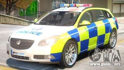 Opel Insignia Police para GTA 4
