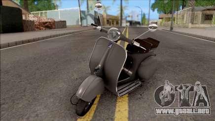 Piaggio Vespa VNB 125 HQLM para GTA San Andreas