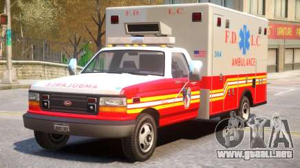 Vapid Ambulance Retro v1.1 para GTA 4