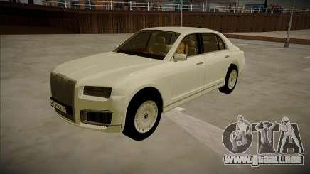 Aurus Senat para GTA San Andreas