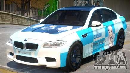 BMW M5 F10 PJ1 para GTA 4