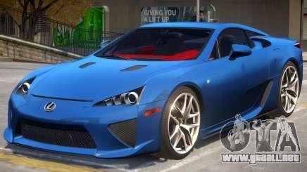 Lexus LF Coupe para GTA 4