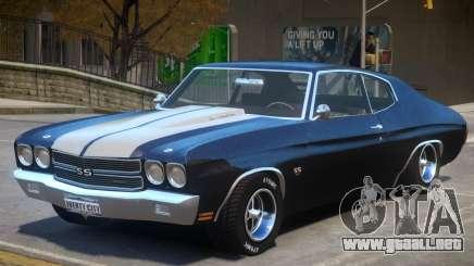 Chevelle SS 1970 v2 para GTA 4