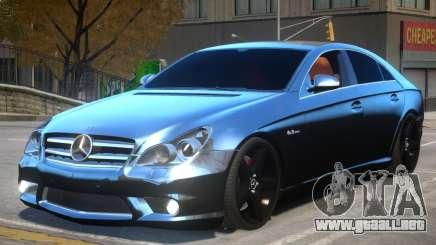 Mercedes CLS AMG W219 para GTA 4