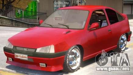 Opel Kadett GSI V2 para GTA 4