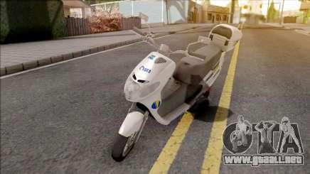 Suzuki Address BHPOST EXPRESS para GTA San Andreas