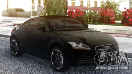 Audi TT RS 2010 Black para GTA San Andreas