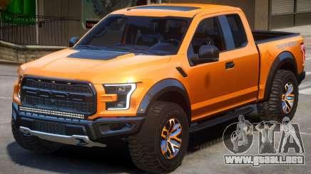 Ford Raptor V1.2 para GTA 4