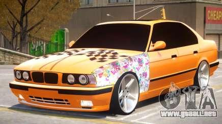 BMW M5 E34 V2.1 para GTA 4