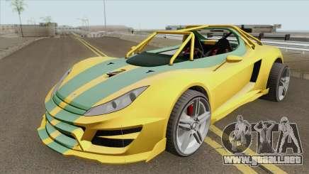 Ocelot Locust GTA V IVF HQ para GTA San Andreas