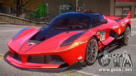 Ferrari FXX-K PJ5 para GTA 4