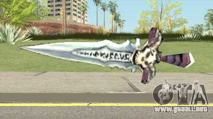Frostmourne (Warcraft III RoC) para GTA San Andreas