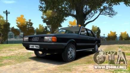 Audi 80 b2 (L.C. Taxi) para GTA 4