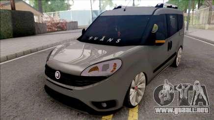 Fiat Doblo 1.3 Multijet para GTA San Andreas