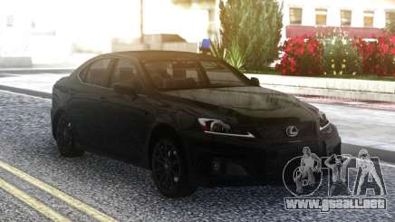Lexus IS250 2007 para GTA San Andreas