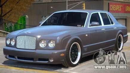 Bentley Arnage Custom V1 para GTA 4
