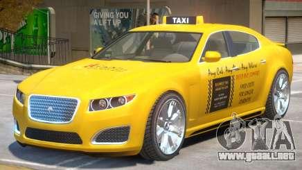 Lampadati Felon TaxiCar para GTA 4