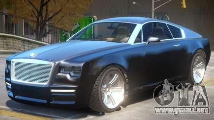 Enus Windsor V2 para GTA 4