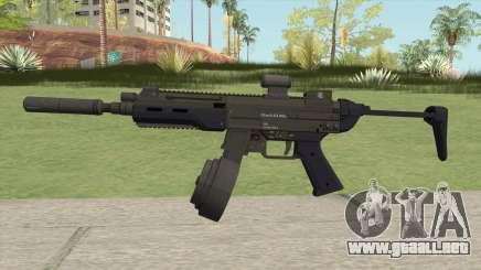 Hawk And Little SMG (Two Upgrades V5) GTA V para GTA San Andreas