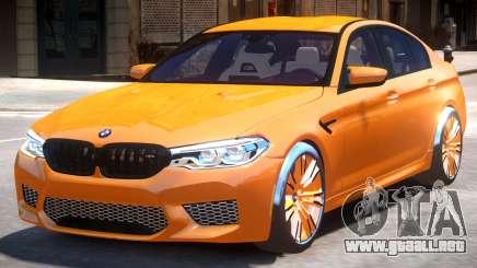 BMW M5 F90 V2 para GTA 4