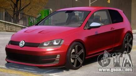 VW Golf R DTD Edition para GTA 4