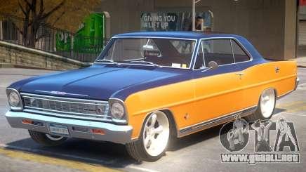 1966 Chevrolet Nova PJ1 para GTA 4