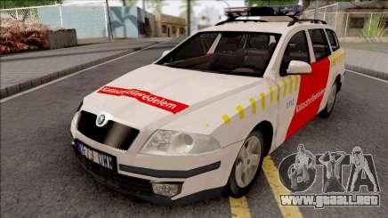 Skoda Octavia Combi 2006 Katasztrofavedelem para GTA San Andreas