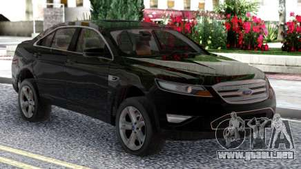 Ford Taurus SHO 2010 Black Original para GTA San Andreas