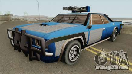 Weaponized Tampa GTA V (SA Style) para GTA San Andreas