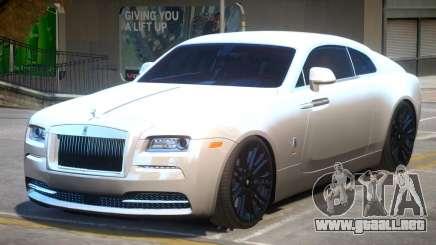 Rolls Royce Wraith V1.2 para GTA 4