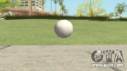 Snowball From GTA V para GTA San Andreas