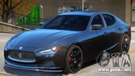 Maserati Ghibli V2 para GTA 4