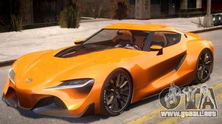 2014 Toyota FT-1 Supra Concept para GTA 4