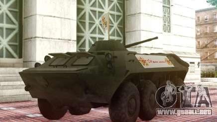 BTR 70 para GTA San Andreas