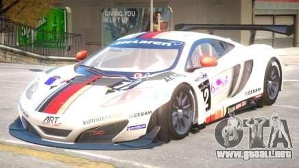 McLaren MP4 PJ2 para GTA 4