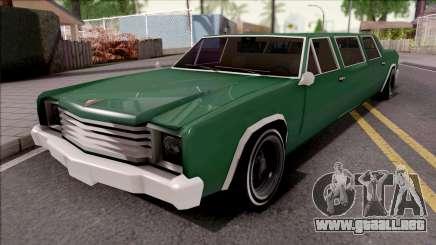 Picador Limousine para GTA San Andreas