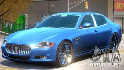 Maserati Quattroporte V1 para GTA 4