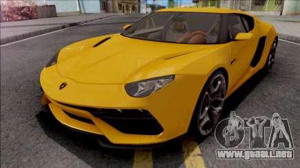 Lamborghini Asterion LPI 910-4 Concept 2015 para GTA San Andreas
