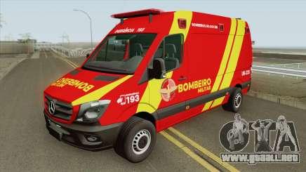 Mercedes-Benz Sprinter 2018 (Bombeiro Militar) para GTA San Andreas