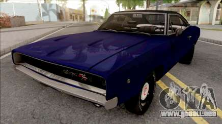 Dodge Charger 1968 Blue para GTA San Andreas