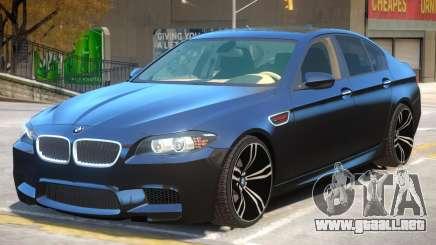 BMW M5 F10 V1.2 para GTA 4