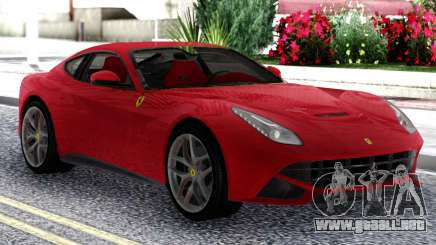 Ferrari F12 Berlinetta Red Original para GTA San Andreas