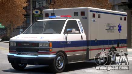 Ambulance Lancet Hospital para GTA 4