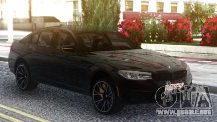 BMW M5 F90 Competition Black Series para GTA San Andreas