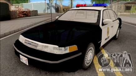 Ford Crown Victoria 1997 Hometown Police para GTA San Andreas