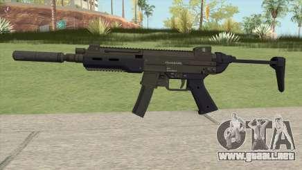Hawk And Little SMG (Two Upgrades V7) GTA V para GTA San Andreas