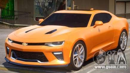 2017 Chevrolet Camaro SS v1.2 para GTA 4