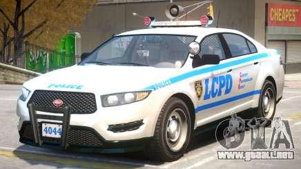 Vapid Interceptor Police V2 para GTA 4